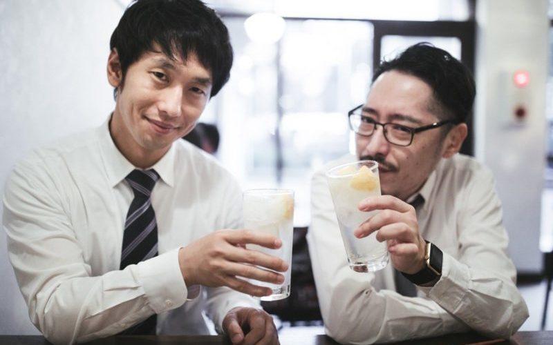 真面目な男性と飲み会
