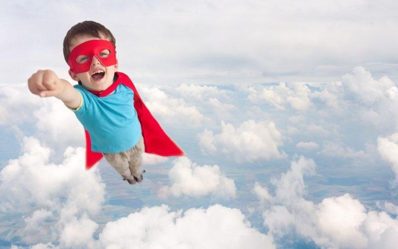 子供のスーパーマン