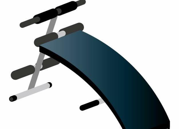 アーチ状の腹筋台
