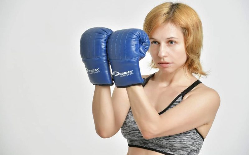 キックボクシングと女性
