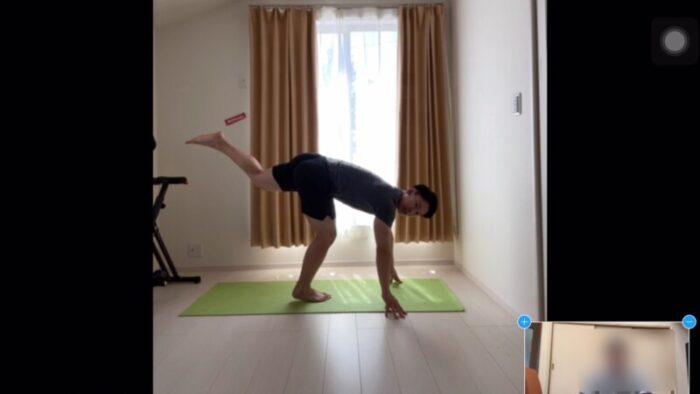 W/Fitness(ウィズフィットネス)のトレーニング①